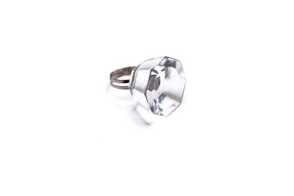 bague cristal support de colle